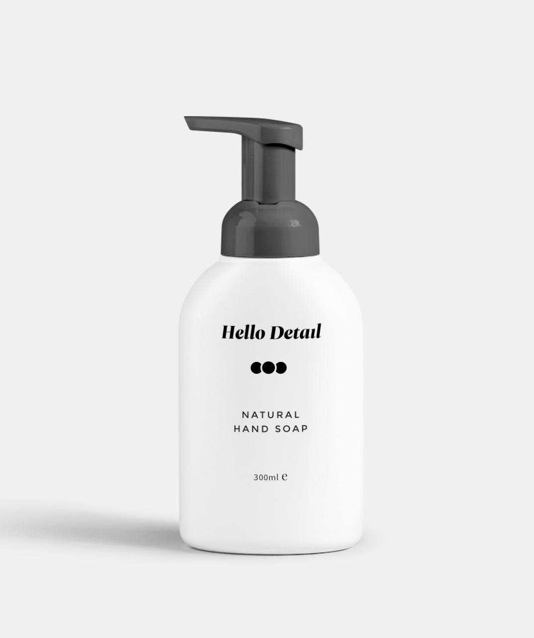 Natural hand soap