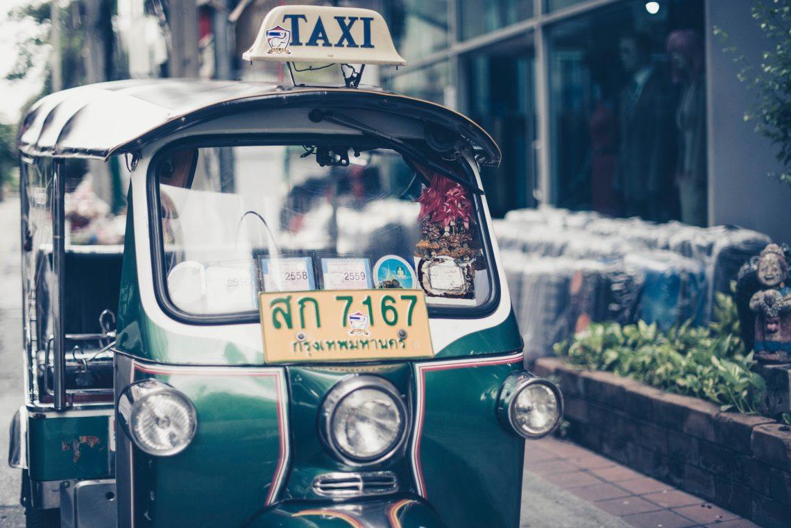 Tuk-tuk taxi in Thailand